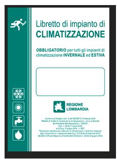 Libretto di impianto di climatizzazione